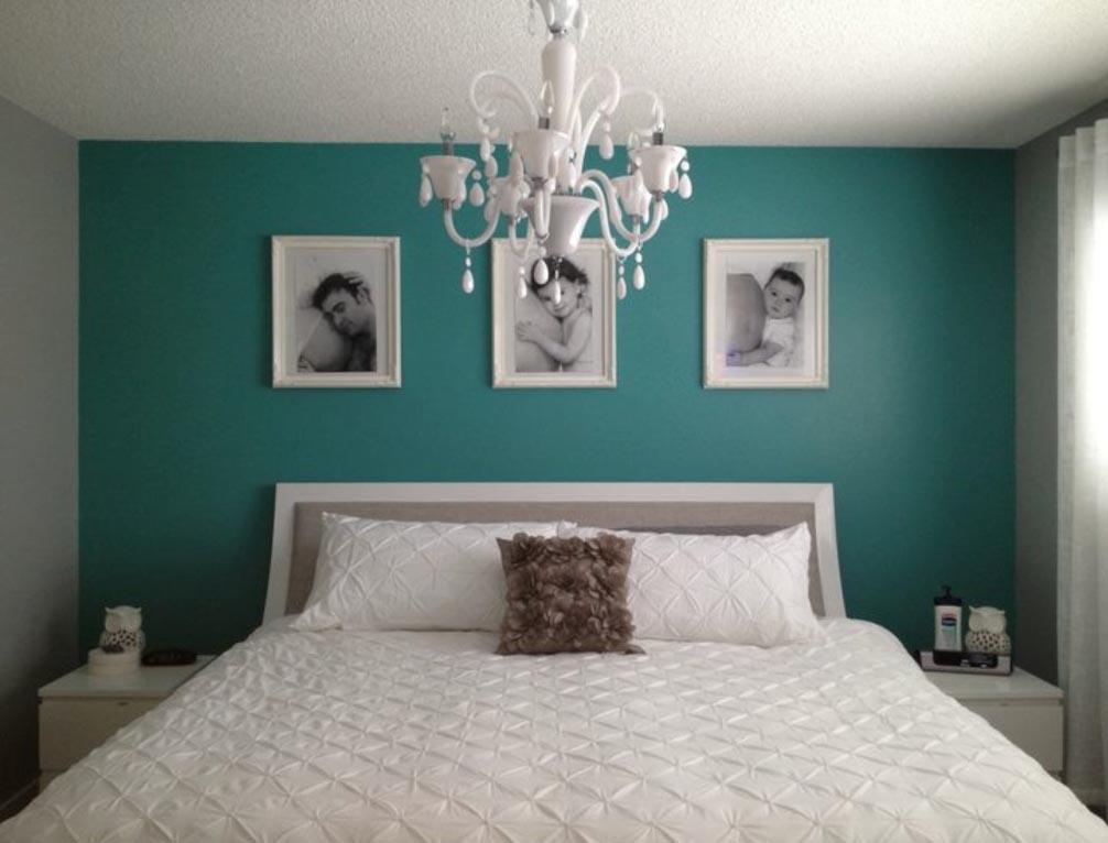 Crea tu propio espacio de relajaci n en casa for Paredes turquesa y gris