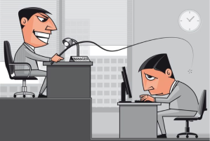 Abuso en el trabajo