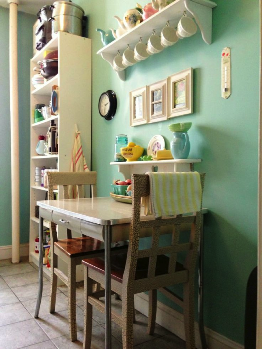 Ideas para cocinas peque as for Small dining room solutions