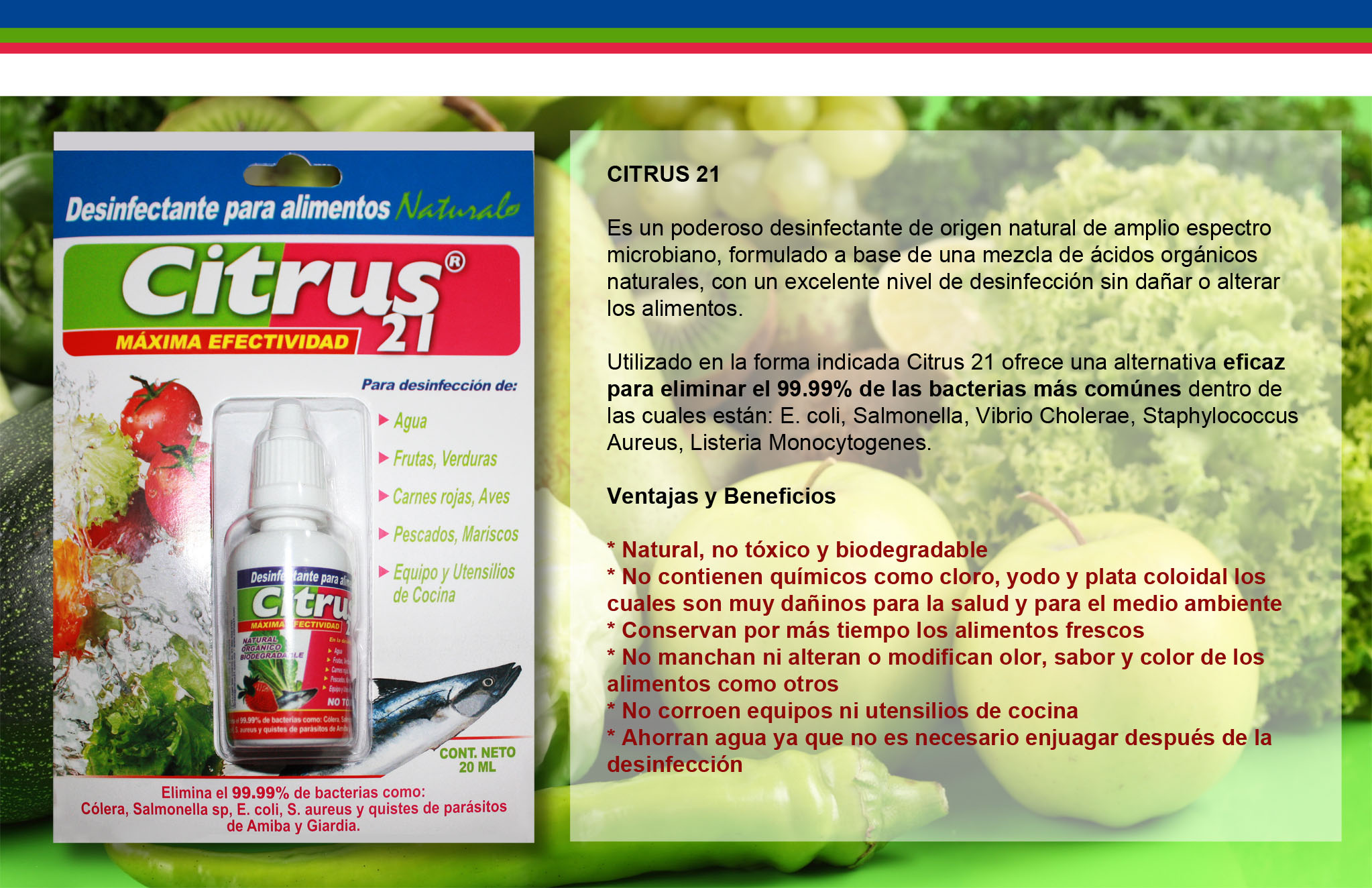 Compra Citrus 21 - Desinfectante 100% natural