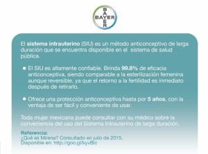 Métodos anticonceptivos: Conoce cómo funciona el Sistema intrauterino (SIU)