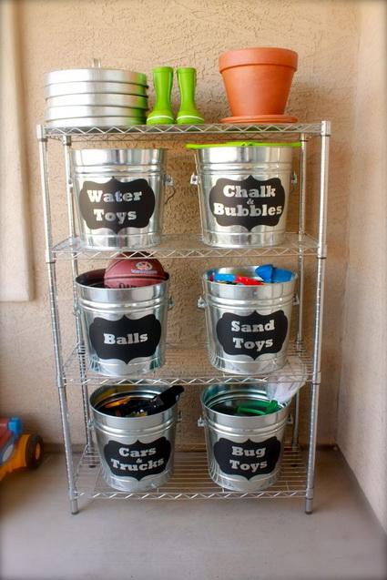 Ideas para organizar la rec mara de los ni os - Ideas almacenaje juguetes ...