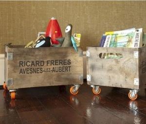 Ideas para organizar juguetes en cajones, cajas y cubetas