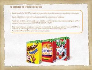 Compromiso de nutrición Nestlé