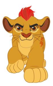 La Guardia de León (la serie) Kion